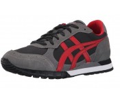 Onitsuka Tiger Colorado 85 Black Grey Red Suede Men Trainers